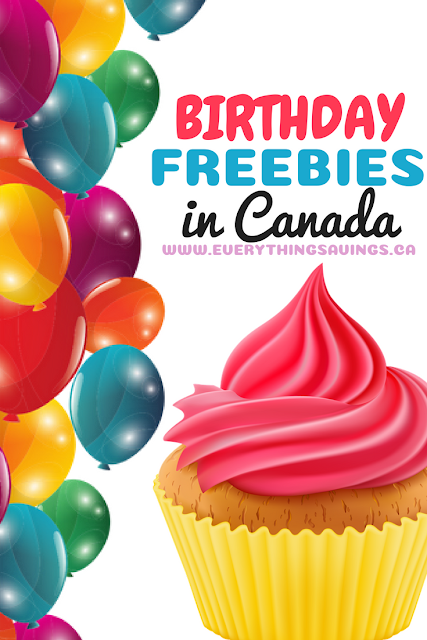 Birthday Freebies in Canada