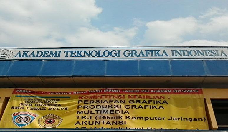 PENERIMAAN MAHASISWA BARU (ATEK GRAFIKA INDONESIA) 2018-2019 AKADEMI TEKNOLOGI GRAFIKA INDONESIA JAKARTA