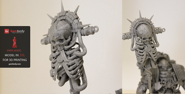 Warhammer40k Chaplain 3D print