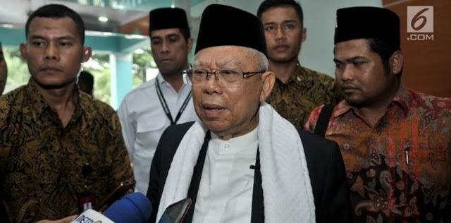 Ma'ruf Amin: Dulu Sandal, Sekarang Masjid NU yang Hilang Diambil Kelompok Radikal