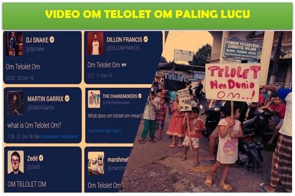 "Galeri 6 Video ""Om Telolet Om"" Paling Gokil Bikin Ngakak!"