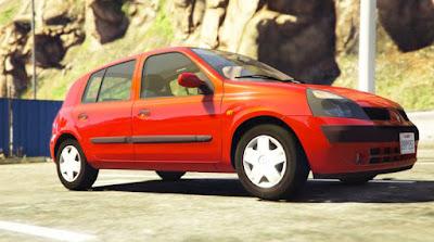 Download mod carro , Renault Clio para GTA 5, GTA 5 Jogo PC