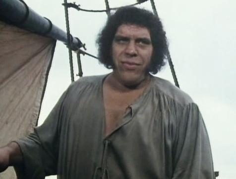 Fezzik el Turco (André el Gigante) en La princesa prometida - Cine de Escritor