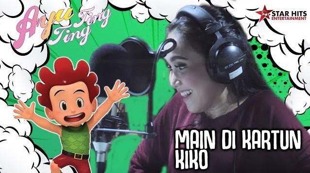 Video Ayu Ting Ting Main Di Serial Kartun Kiko RCTI, Gimana Jadinya Ya?