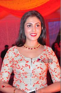 Actress Madhu Shalini Exclusive Stills in Party Dress at Vijay Karan Aashna Wedding  0015.JPG