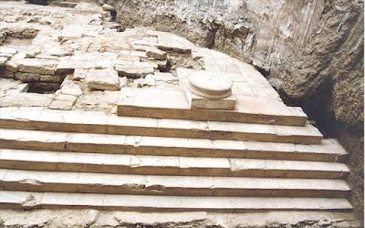 Θεσσαλονίκη: Προσωρινή η κατάχωση του ρωμαϊκού ναού της Αφροδίτης