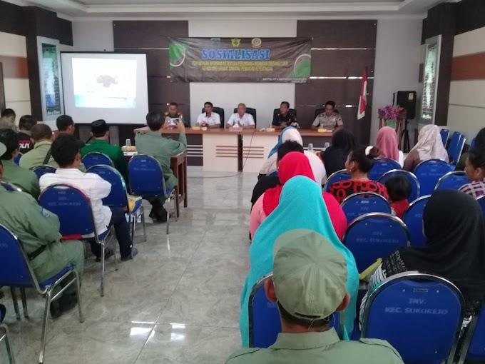 Danramil Hadiri Kegiatan Sosialisasi Cukai Di Kantor Kecamatan Sukorejo