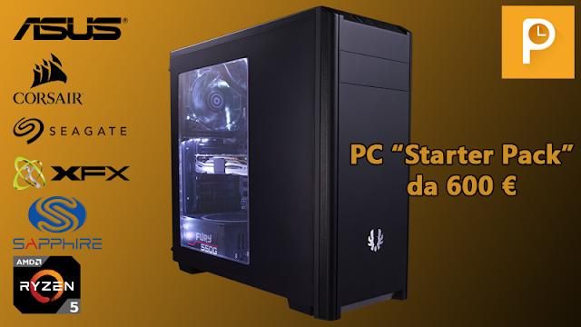 """Configurazione PC """"starter pack"""" da 600 € – Giugno 2017"""