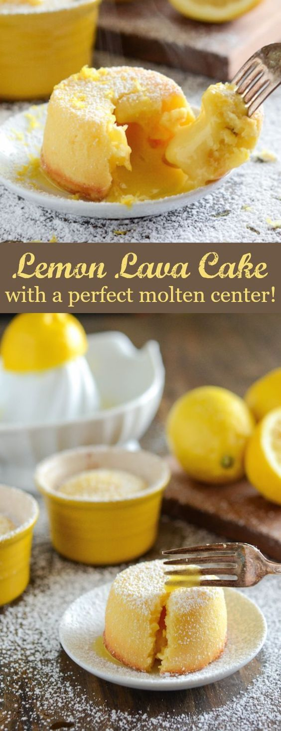 Lemon Lava Cake Recipe