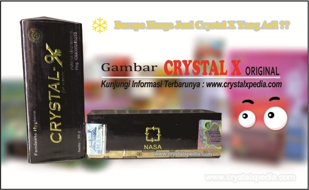 harga jual crystal x asli
