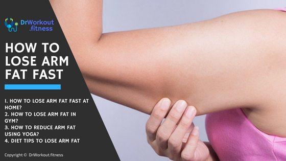 How to Lose Arm Fat Fast for Women