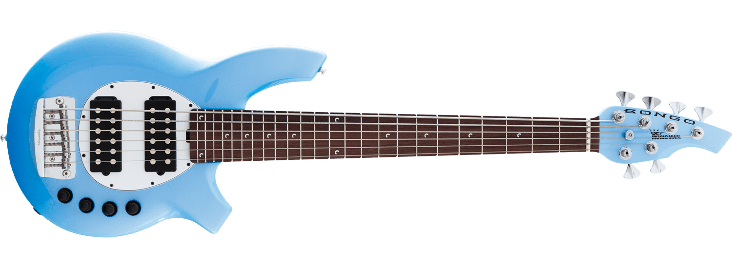 Some say it looks like a toilet seat. Fair enough. I don't care. I think  they look terrific. Plus, all Music Man basses have some features that make  them ...