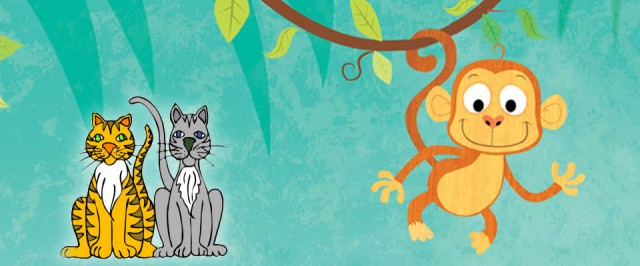 Easy Way (A Blog For Children): Two foolish cats and the