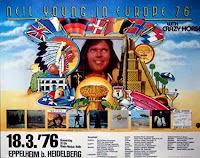 """Poster, """"Neil Young"""", Eppelheim, 1976"""