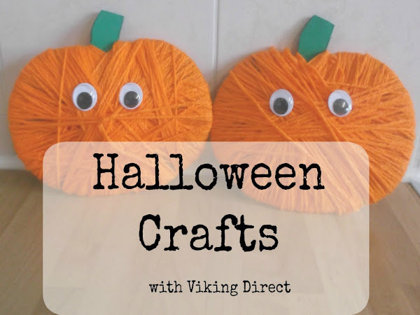 Halloween Crafts with Viking Direct