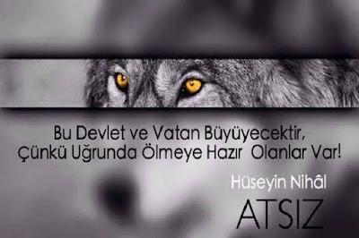wolf, kurt, bozkurt, özgür hayvan, özgür millet, devlet, vatan, şehid, hüseyin nihal atsız