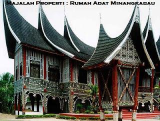 Desain Bentuk Rumah Adat Minangkabau dan Penjelasannya, Rumah Adat Indonesia