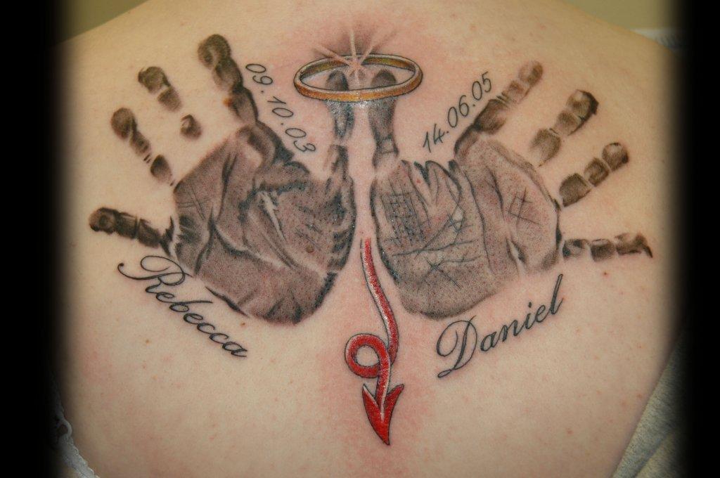 Baby Tattoo Ideas: My Tattoo Designs: Baby Handprint Tattoos