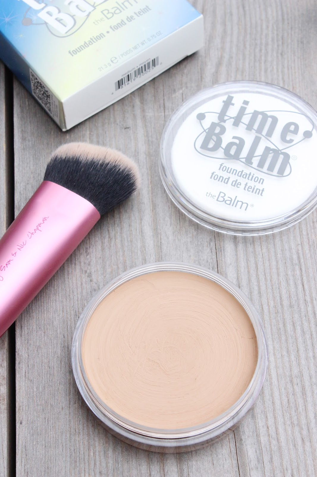 One To Try | theBalm TimeBalm Foundation