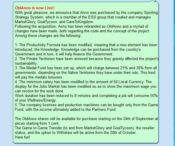 شرح اللعبة الحربية Old Anno الربحية الجديدة التابعة لشركة ESS