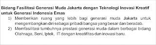 Failitasi Generasi Muda jakarta dengan TIK untuk Generasi Indonesia Emas