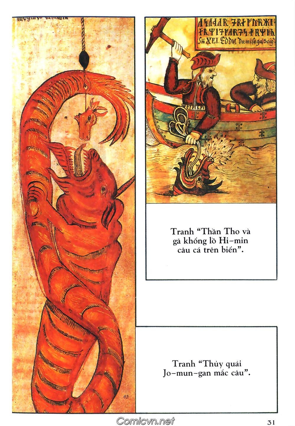 Thần thoại Bắc Âu - Chapter 36: Chuyến câu cá để đời - Pic 32