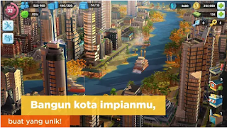 SimCity BuildIt Mod Apk Unlimited Money Free for android