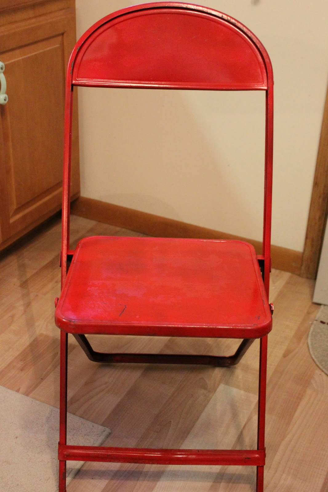 Folding Chair Upcycle Little Kid Table And Chairs Organized Clutter