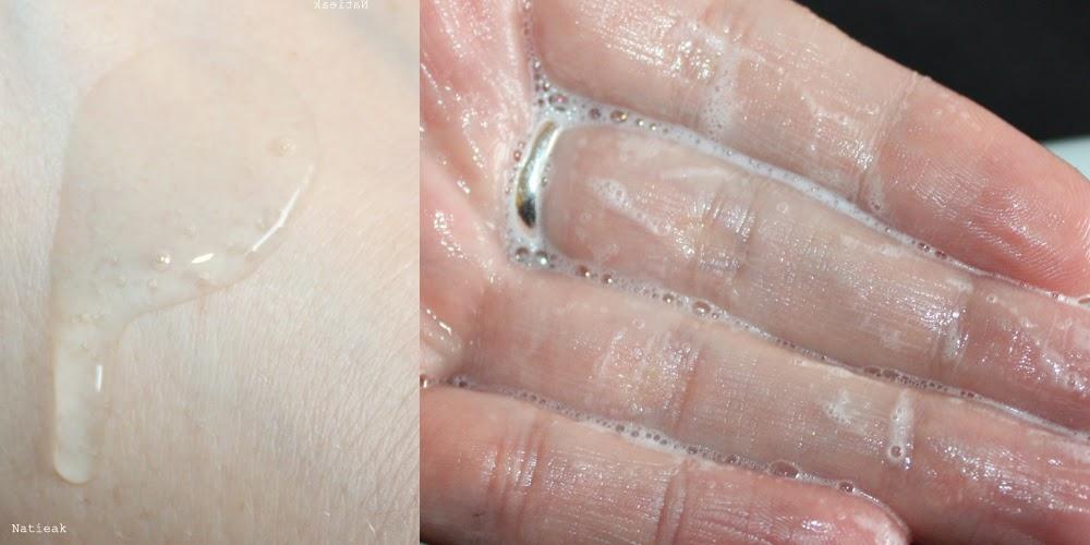 mousse gel nettoyant purifiant