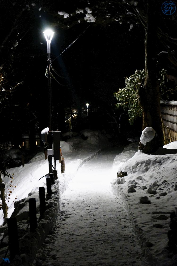 Le Chameau Bleu - Ruelle de Morioka - Séjour dans l'Iwate - Tohoku - Japon