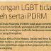 Golongan LGBT Tidak Boleh Sertai PDRM