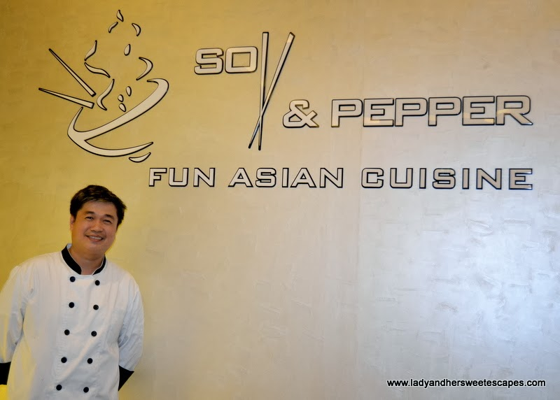 Chef Jeff of Soy and Pepper Reef Mall Dubai