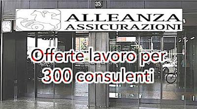 Alleanza Assicurazioni cerca Consulenti (adessolavoro.blogspot.com)