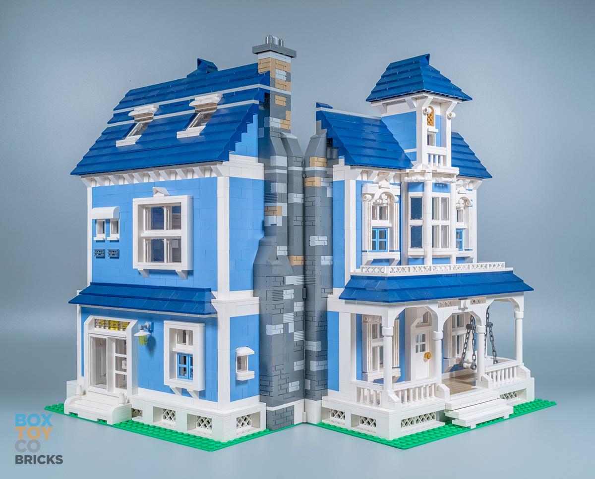 Key Town Bedroom Set Lego Moc Victorian House Boxtoy Co