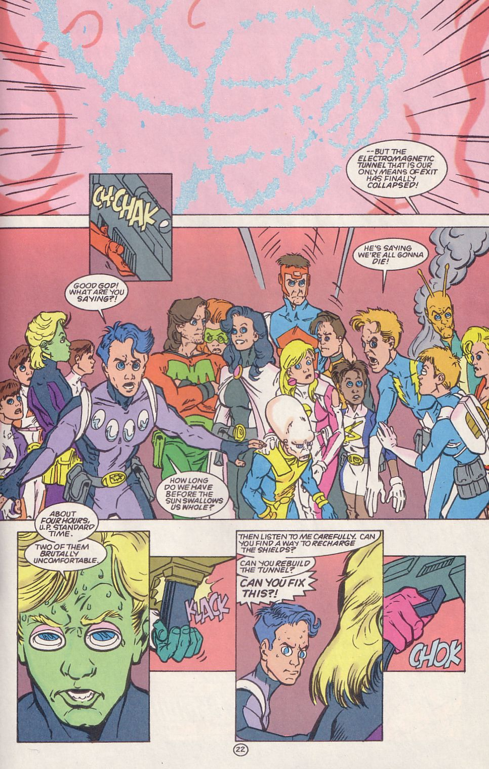 Legion of Super-Heroes (1989) 65 Page 21