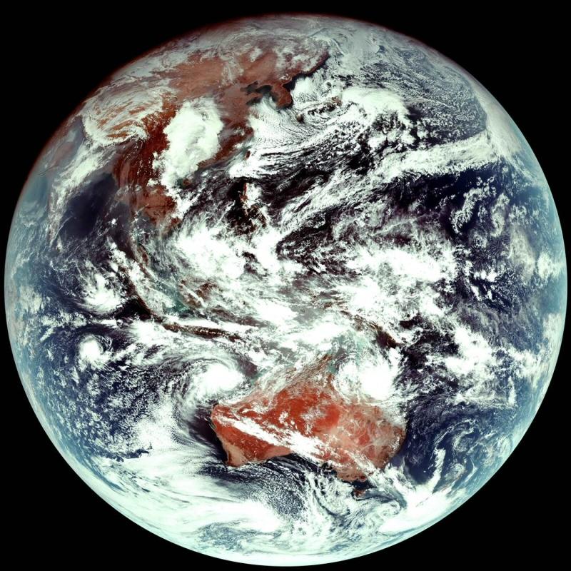 천리안 위성 2A호 첫 관측영상 수신 성공