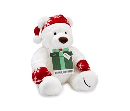 Amazon Free Holiday Teddy Bear With Gift Card