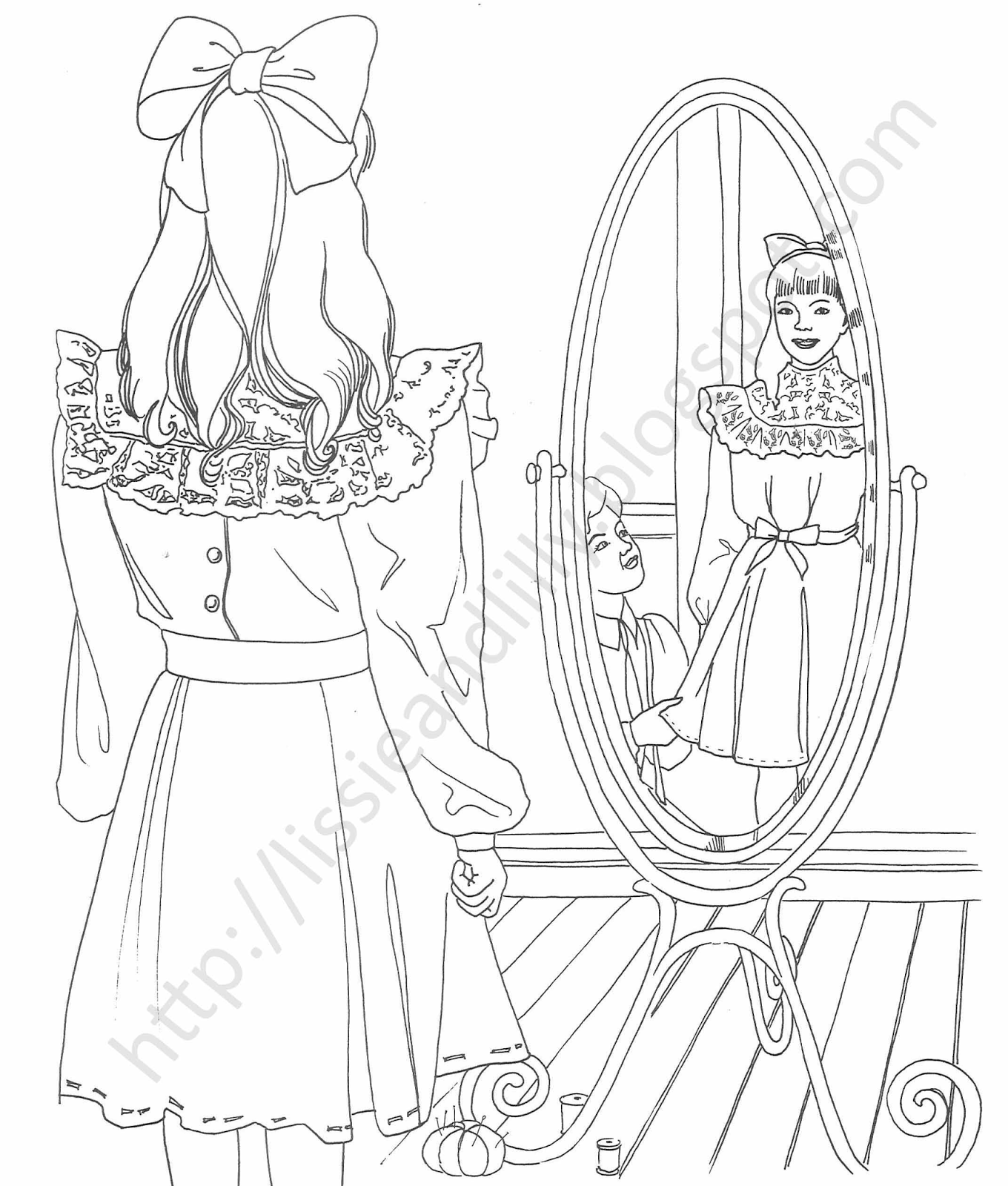 makayla coloring pages - photo#26