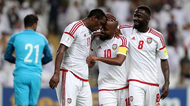 La victoria de Emiratos Árabes a Arabia Saudita inauguró los partidos de eliminatoria Rusia 2018 de septiembre