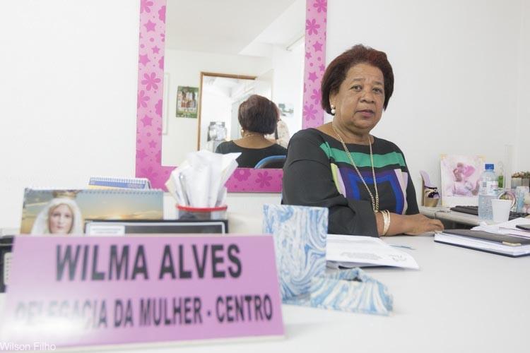 Delegada Vilma registra 1º boletim de homem vítima de violência doméstica no PI