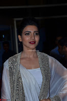 Samantha Ruth Prabhu cute in Lace Border Anarkali Dress with Koti at 64th Jio Filmfare Awards South ~  Exclusive 056.JPG
