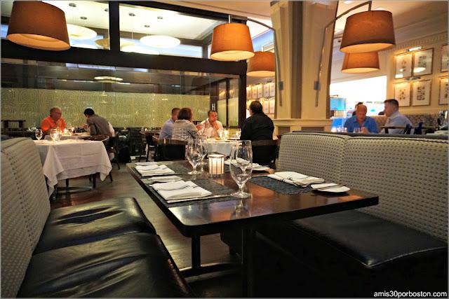 Comedor del Restaurante Oceana en Nueva York