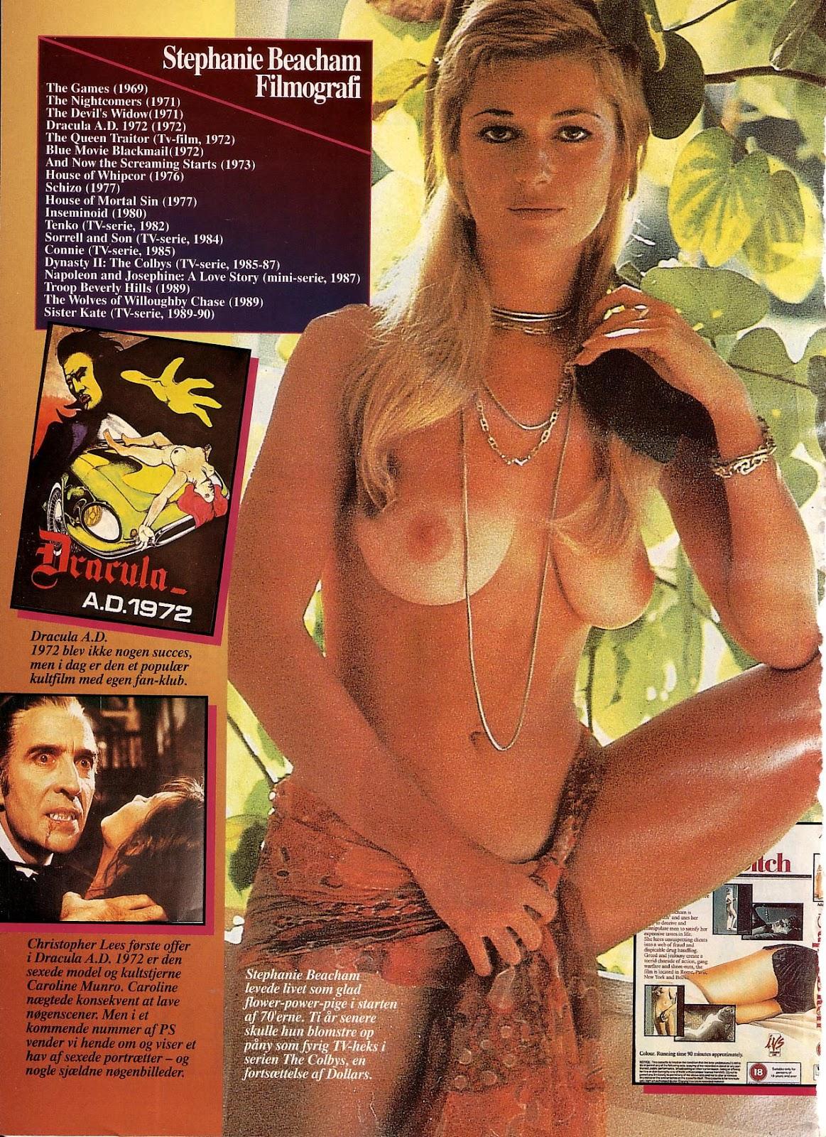 Young stephanie beacham nude