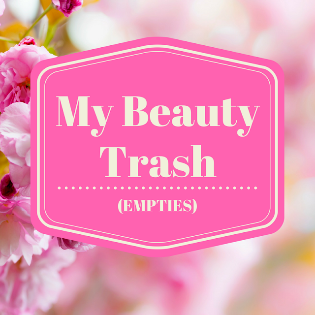 My Beauty Trash Empties January to April 2017