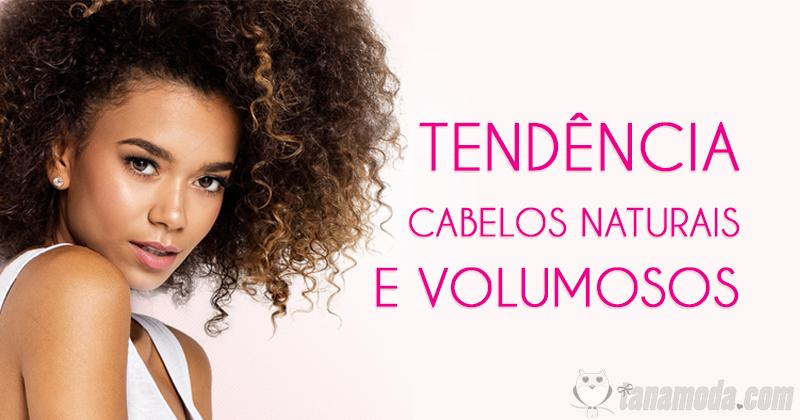 Tendência cabelos naturais e volumosos - BestHairBuy