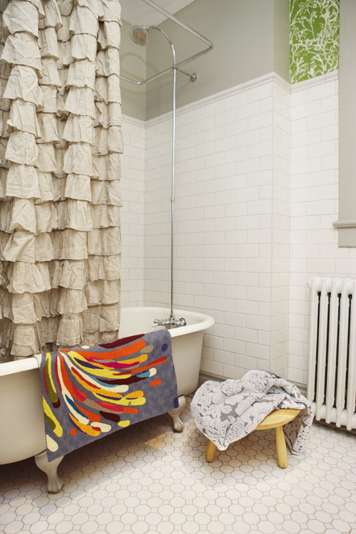 Trend Homes: Beautiful Shower Curtains