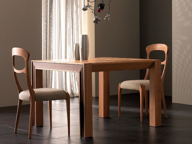 Furniture made by natural materials have a positive effect on the atmosphere at home