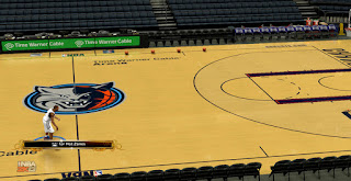 NBA 2K13 Charlotte Bobcats New Court