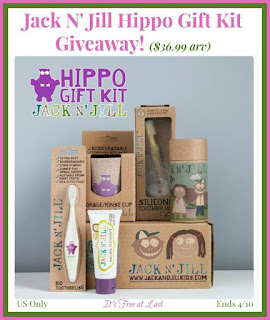 Enter the Jack N' Jill Hippo Gift Kit Giveaway. Ends 4/10