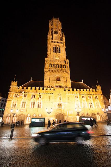 Markt-Torre del Belfort-Bruges